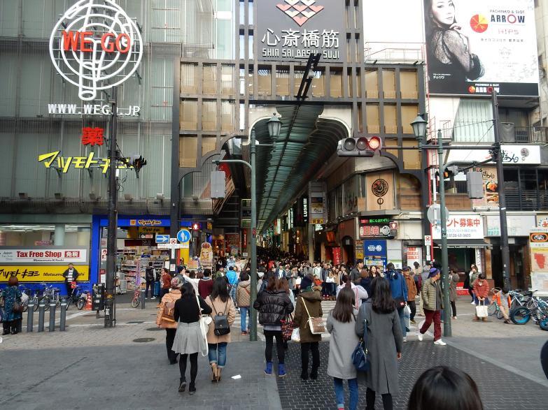 大阪心斎橋商店街は外国人観光客であふれているが、新たな問題が起きている