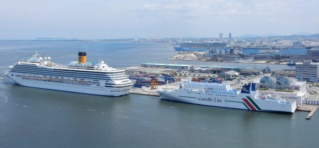博多港はやはり日本における外航...