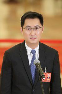 微信ブランドを展開するテンセント会長の馬化騰氏