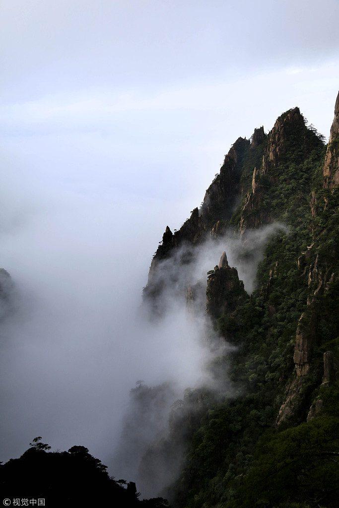 2b黄山雲海